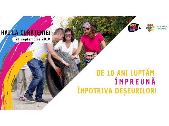 Let's Do It, Romania! organizeaza Ziua de Curatenie Nationala pe 21 septembrie
