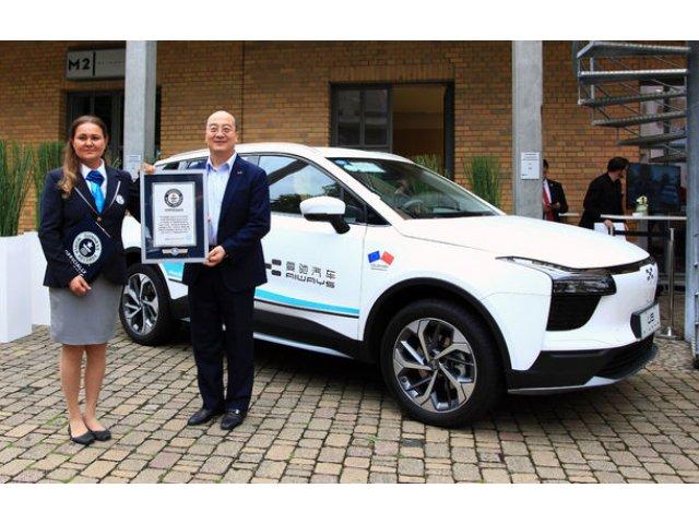 Record mondial pentru cel mai lung drum parcurs de o masina electrica: 15.000 de kilometri din China pana in Germania