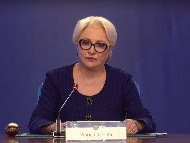 Dancila: Vom debloca plata salariilor angajatilor din Ministerele Mediului, Energiei si Relatia cu Parlamentul