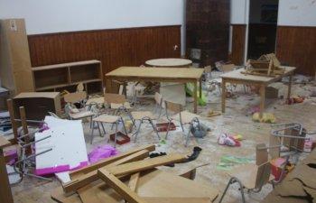 Primarul scolii din Clejani distruse de trei elevi: