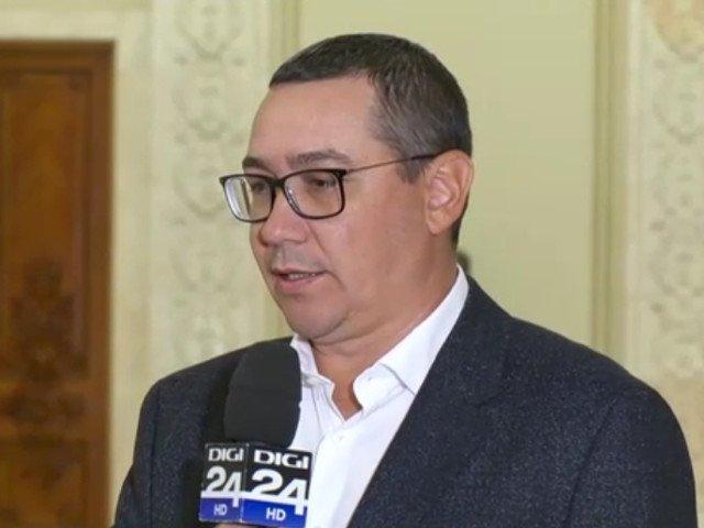 Ponta: Adevarul este ca acest Guvern e un mort pe care toata lumea are interesul sa il mai tina in geam pana dupa alegerile prezidentiale