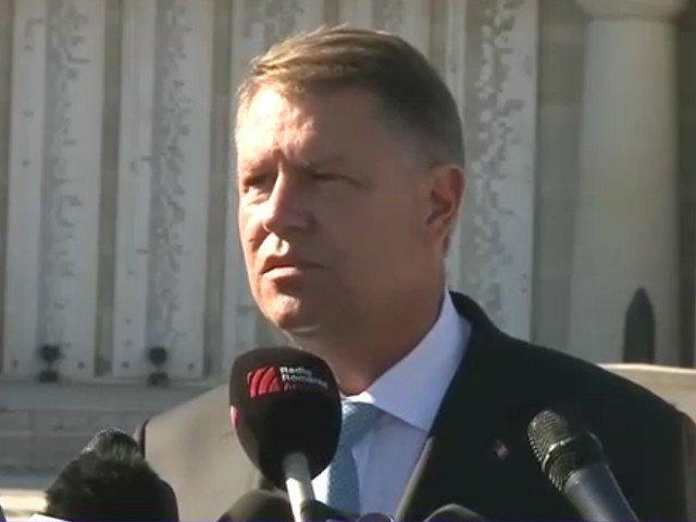 Iohannis: PSD, pentru Romania, a fost si este o catastrofa