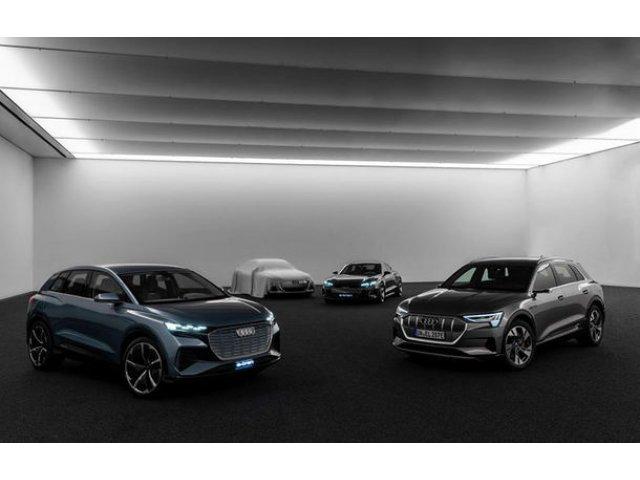 Audi a publicat o imagine teaser cu un viitor concept electric: versiunea de serie a acestuia va avea la baza o platforma noua dezvoltata alaturi de Porsche