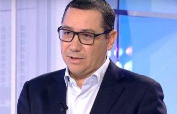 Ponta: Dancila vrea sa adopte rectificarea bugetara si sa dea bani celor care nu au votat motiunea. Curat murdar Coana Viorico!