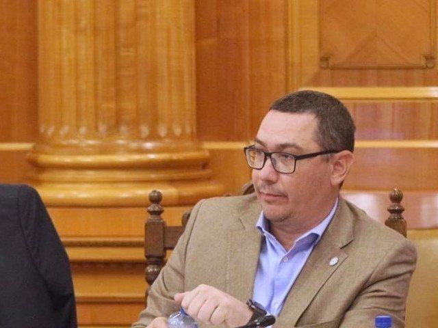 Ponta: Daca trece motiunea, Viorica Dancila nu va mai fi candidatul PSD la alegerile prezidentiale