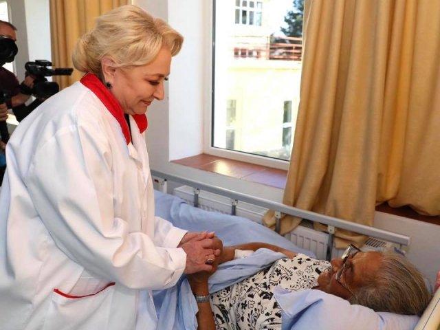 Dancila: Am acordat sume substantiale pentru pentru multe spitale. Am dat bani indiferent de culoarea politica