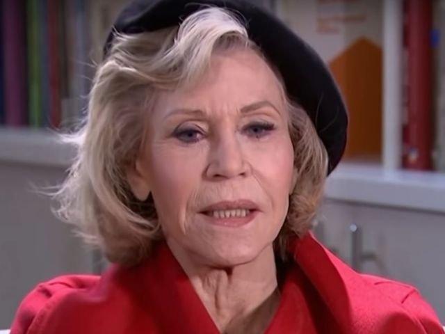 Actrita Jane Fonda, arestata pe treptele Capitoliului, la un protest in Washington/ VIDEO