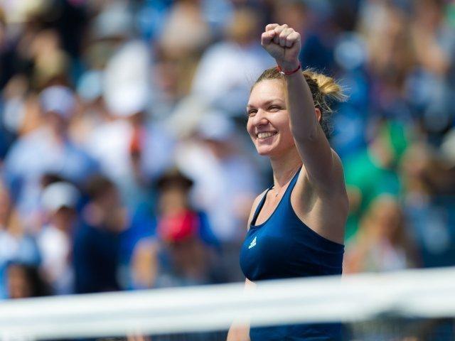 Turneul Campioanelor: Simona Halep o invinge pe Bianca Andreescu