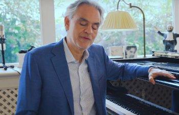 Andrea Bocelli a lansat impreuna cu UNESCO programul ''Voices of the World'' pentru ajutarea copiilor afectati de razboaie