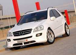 800 CP pe un SUV! Mercedes ML63 AMG by Kleemann