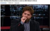 "[VIDEO] Zach Galifianakis a fumat ""iarba"" in direct, la TV"