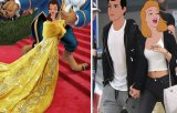 Photoshop la rang de arta: printesele Disney, reimaginate in celebritati
