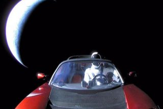 [FOTO] Elon Musk a publicat ultima imagine cu Starman si Tesla in spatiu