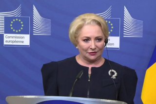 Dancila: Nu am absolut nicio emotie legata de motiunea de cenzura/ VIDEO
