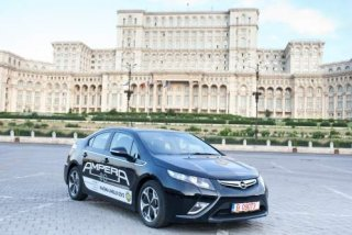 Opel Ampera, disponibil in Romania. Costuri de intretinere