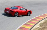 Ferrari 458 Italia scoate fum la Top Gear