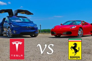 [VIDEO] Tesla model X da clasa unui Ferrari F430