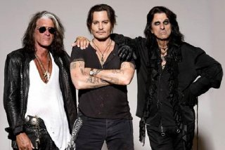 Unde au ajuns Johnny Depp si The Hollywood Vampires