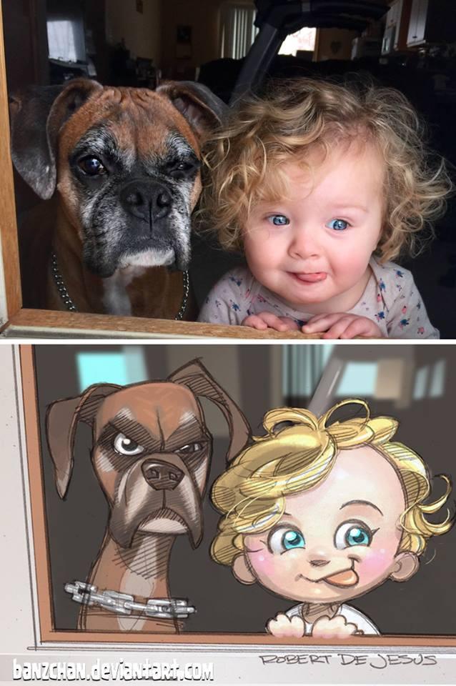 Ilustratii adorabile