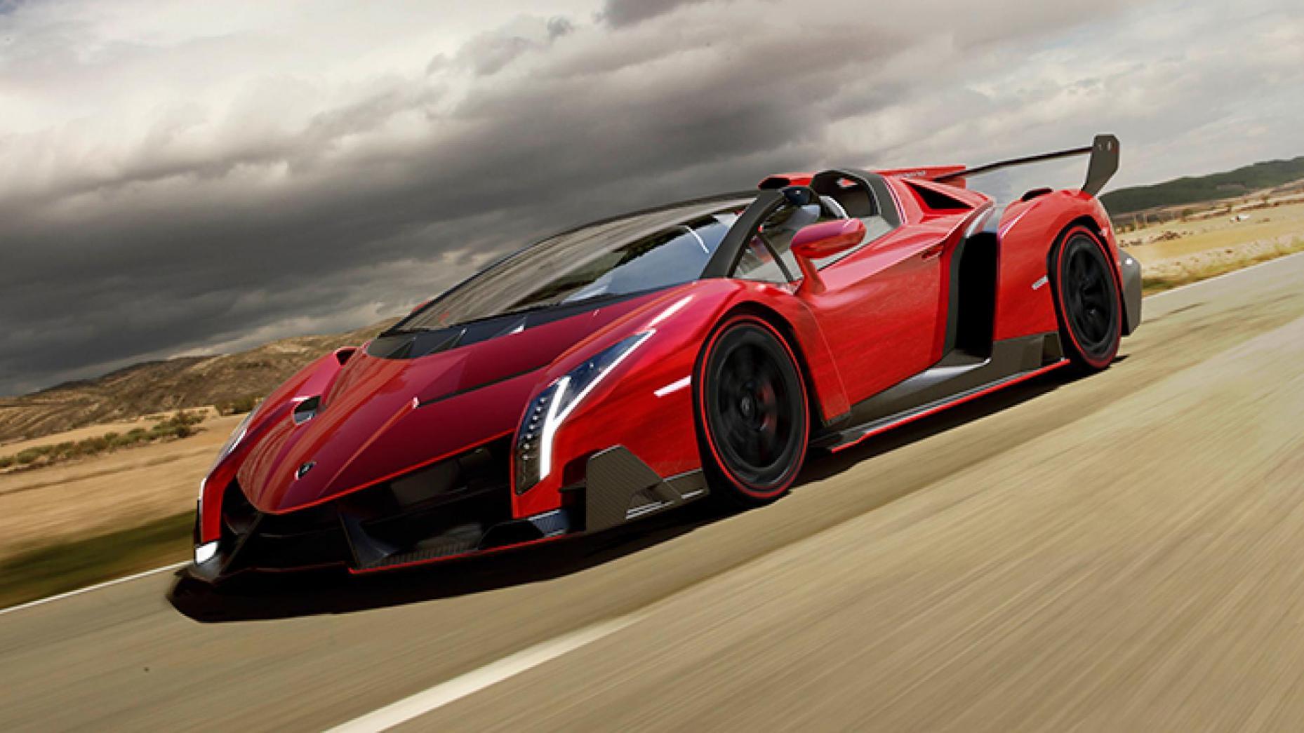 Locul 6. Lamborghini Veneno...