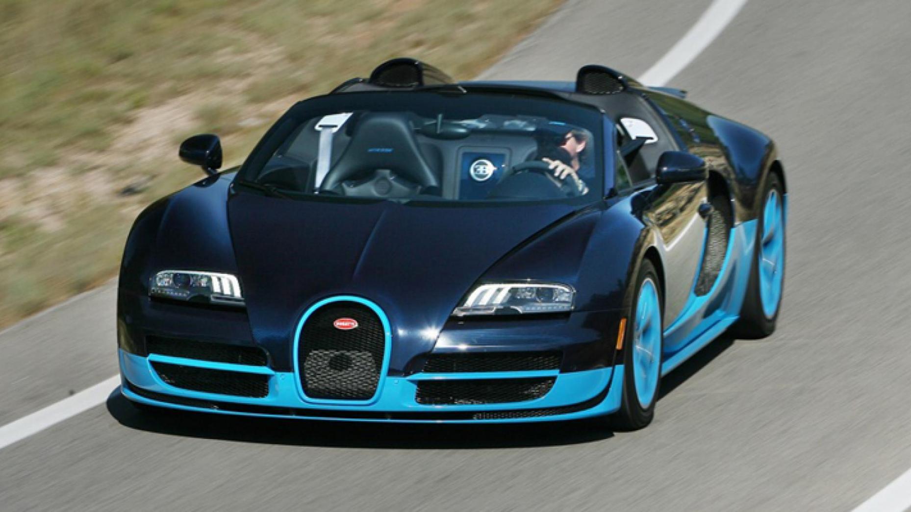 Locul 5. Bugatti Veyron Grand...