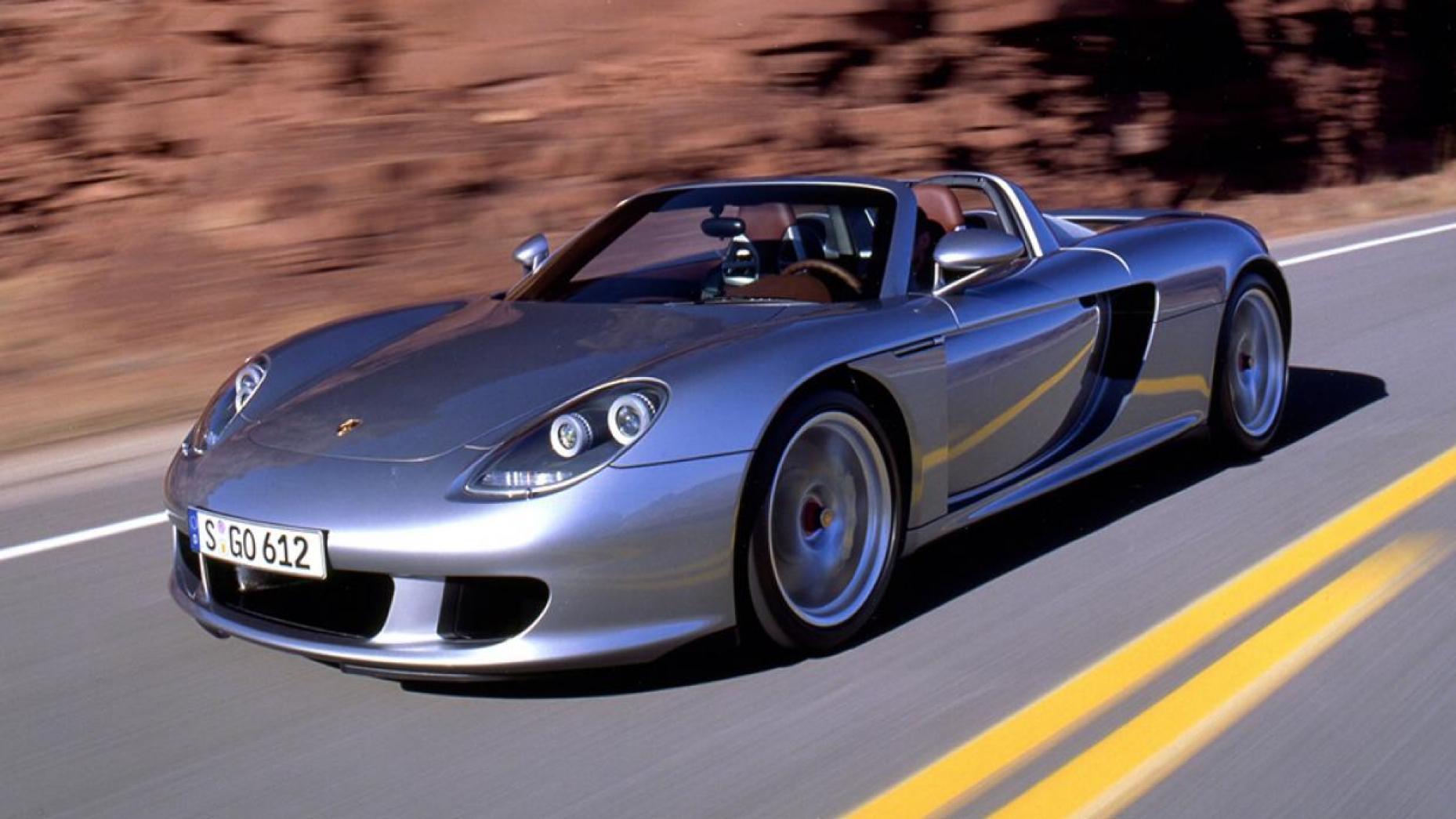 Locul 2. Porsche Carrera GT