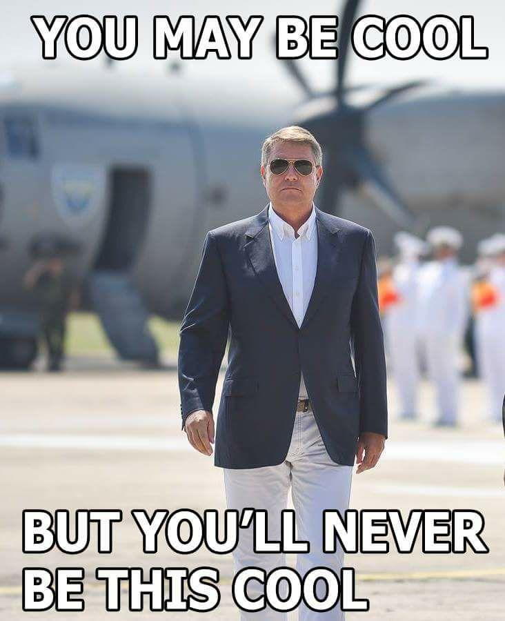 Vizita lui Iohannis la baza...