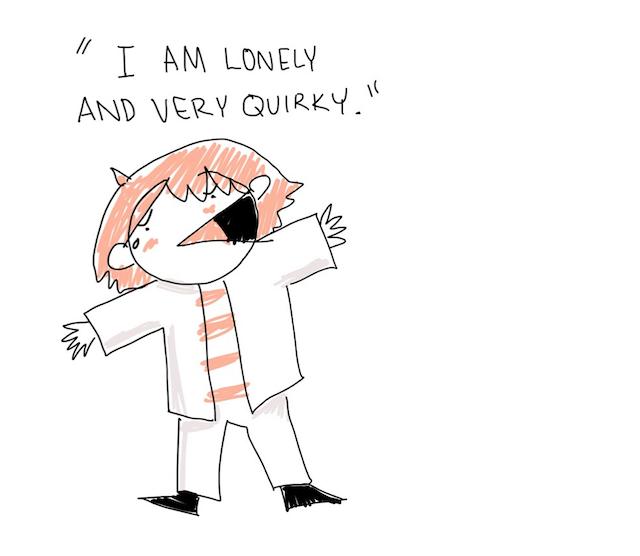 """""""Sunt singur si ciudat"""" - un..."""