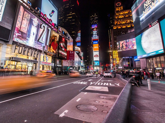 Times Square, New York,...
