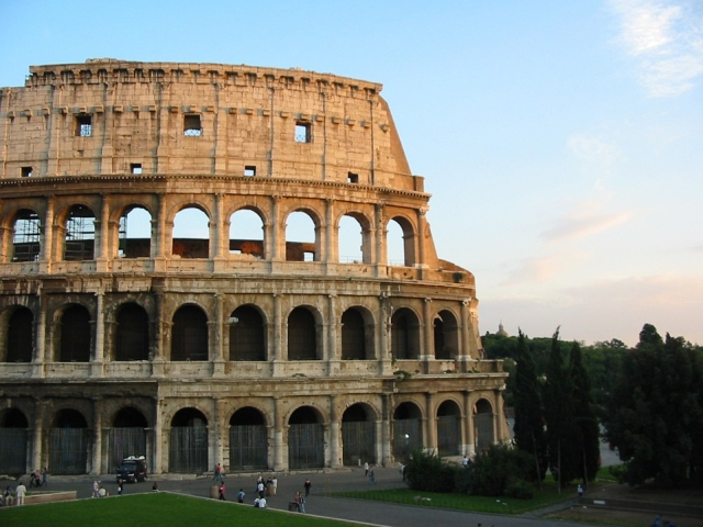 Colosseum, Roma, Italia