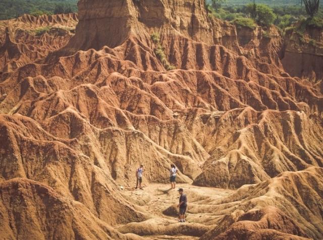 Desertul Tatacoa, Colombia