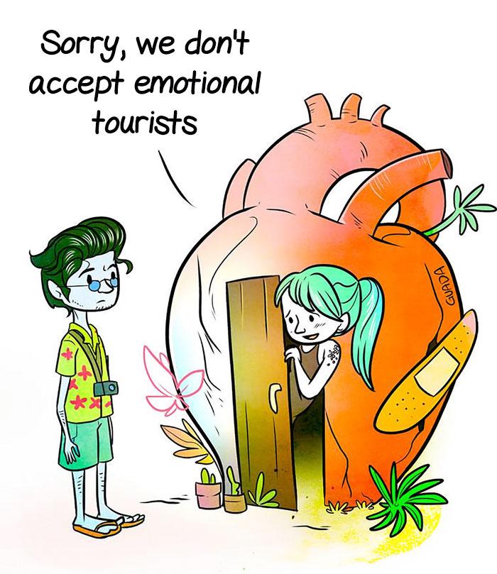"Nu accepta ""turisti"" in inima ta"