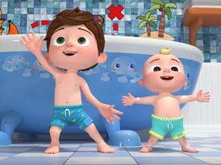 Animatia cu joaca a doi copii