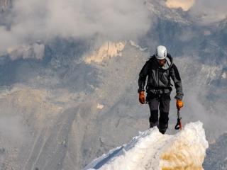 Alpinism - mountain climbing
